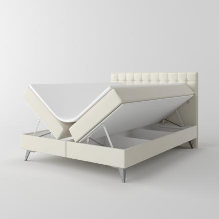 Čalúnená kontinentálna posteľ - 10501