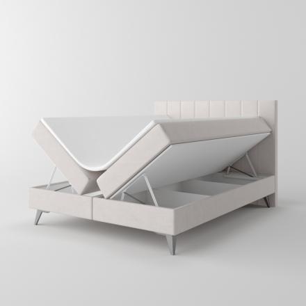 Čalúnená kontinentálna posteľ - 10535