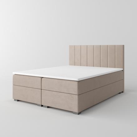 Čalúnená kontinentálna posteľ - 10620