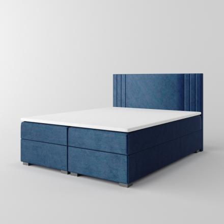 Čalúnená kontinentálna posteľ - 10666