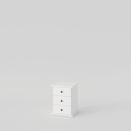 Biely Nočný Stolík - 2164