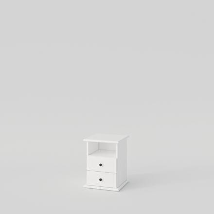 Biely Nočný Stolík - 2166