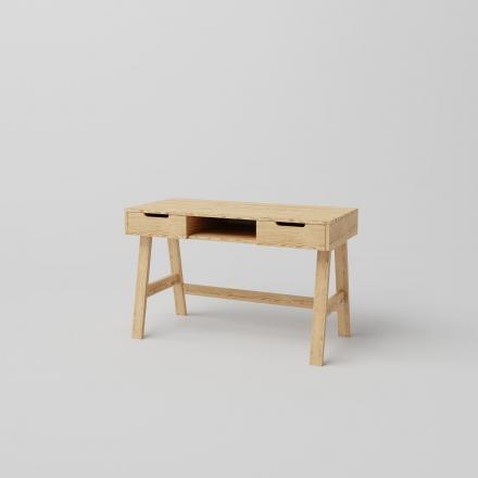 Drevený Škandinávsky Písací Stôl - 7896