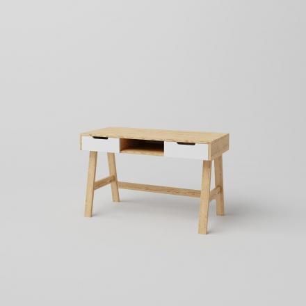 Škandinávsky Písací Stôl Borovica - 7900