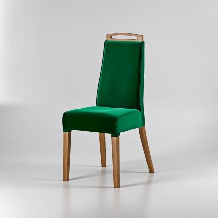 Dubová stolička Velvet - 9225