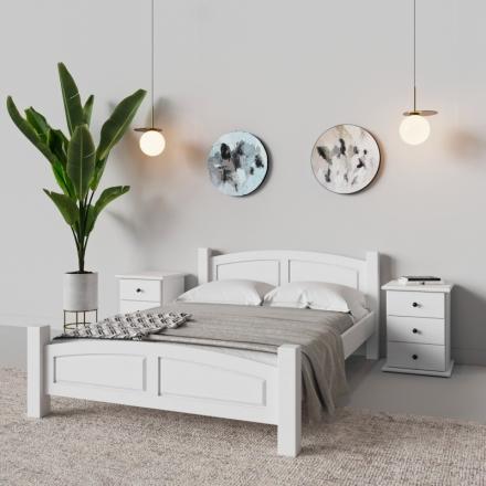 Biely Nočný Stolík - 9522