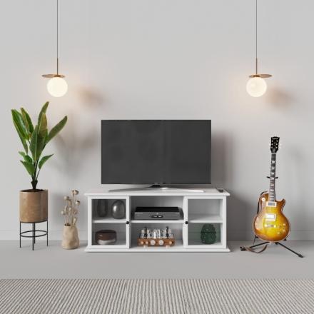 Biela Skrinka Pod Tv - 9731